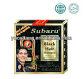 Marcas famosas subaru profissional shampoo cabelo preto 25ml*3