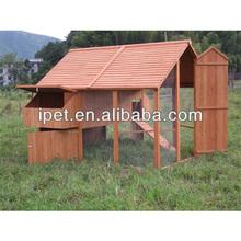 Popular design wooden chicken cage with run CC005