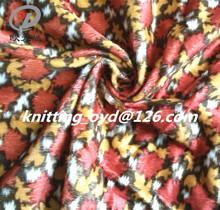 2014 hot wolesale100% polyester flower/floria print knitting velvet/velour fabric for home textile,beding, sofa,cushion