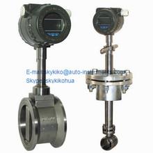 Smart cheap lpg/ hydrogen vortex flowmeter/Insertion type vortex flow meter,air flow meter price