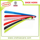 upscale hotel and home plastic shoe horn wholesale