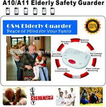 GSM elderly alarm system wireless elderly caring,medical alert,monitoring elderly activity by watchdog