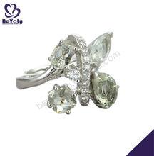 Shiny rough gemstones wholesale china animal ring holders