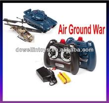Rc modello air terra guerra 1:48 rtr elettrico elicottero rc e serbatoio pack
