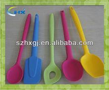 Fda qualité Silicone cuillère et une fourchette pour enfants