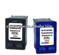 22 702 original for hp deskjet printer genuine ink cartridge
