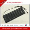 mechanical feel touch keyboard silicon keyboard