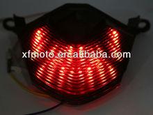 For Kawasaki Z1000 07-10 08 09 Motorcycle Smoke LED Tail Light With Singal