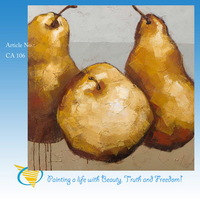 2014 fruit and vegetable painting handmade new designs
