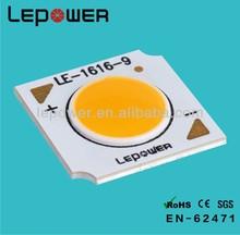 Down light cob led module 5W/ DC 9V input voltage /2800-6500K available