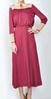 2014 YYH fashion women dress red lace long casual dress designs