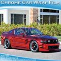 Bom material de pvc quente vender para vários países do carro cromado espelho etiqueta 1.52x30m
