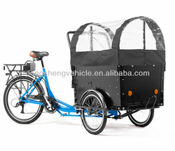 China three wheel electric cargo trike motorcycle