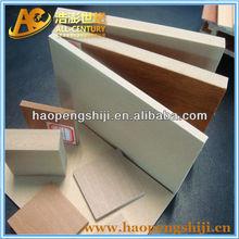 High Quality Decorative Wood Hard Plastic Composite Panel
