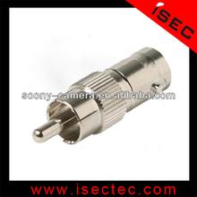 RCA plug BNC female to RCA male connector converter