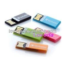 hot sale new design full capacity metal book clip usb flash drive 8gb 16gb 32gb LFN-031