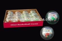75mm Mini Basketball Game Toys Ball For Christmas