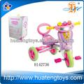 2014 nuevo producto de dibujos animados de plástico para niños triciclo, los niños paseo en el coche de la batería, bebé motofabricante los niños juguetes de vehículos h142736