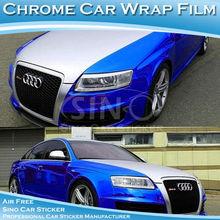 2014 Chrome voiture miroir Prospect nouvelle marque de voiture / Bus corps autocollant conception 1.52 x 30 m