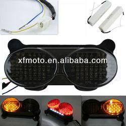 For KAWASAKI ZX6R J1 / J2 2000-2002 LED Tail Light Turn Signals