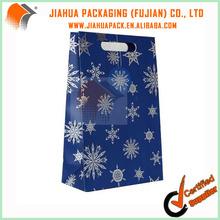 matt chrome paper bag
