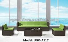 2014 sofa design UGO-A117 newest modern UGO rattan furniture