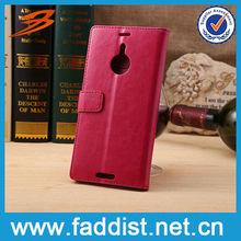 Luxury leather for Nokia Lumia 1520 custom printed case