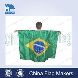 2014 Hot Sports Brazil National Flag Body Flag