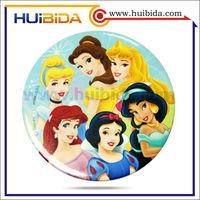 Disney factory printed tin badges