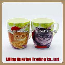 specail 3d animal design ceramic mugs wholesale