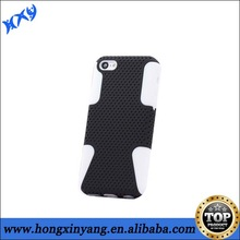 double layers dream net mesh combo cases for iphone 5C