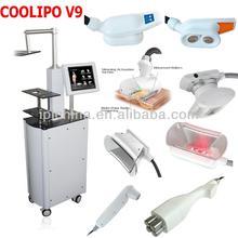 HOT COOLIPO V9 cryolipolysis fat freezing effective vacuum cavitation & rf slimming device