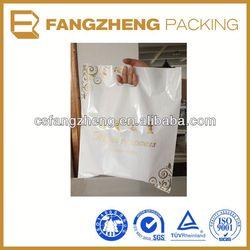 Plastic bag/photo printed ldpe bags/Die Cut Handle bag