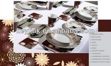 High quality hot sell tableware dinner set/ceramic crockery