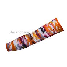 Custom Printed Lycra Compression Arm Sleeve for Men