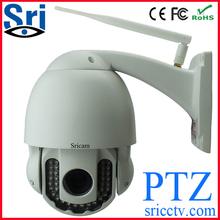 40m Day/Night Dome IR Waterproof wireless IP camera