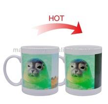 Magic mug transfer printing exported from China