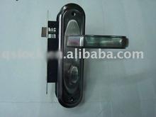 Pakistan style full set iron plate door handle 58mm 8111-009 door handle packs