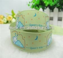 lovely DIY printing grosgrain ribbon