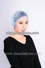 PP mob cap disposable head cap , nurse cap /hair cover in hospital , food industry , cleanroom