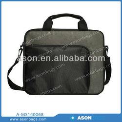 """600D Polyester large capacity messenger bag 13"""" Computer Brief messenger bag"""