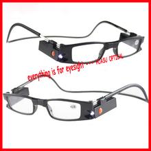 new favorite LED magnetic reading glasses 'LED light detachable'