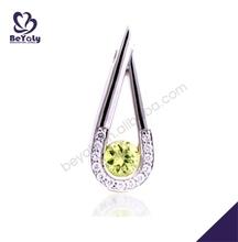 fashion wholesale costume cheap silver pendant maker