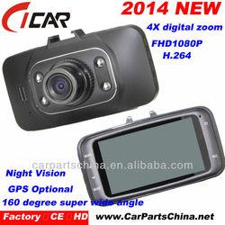 HD1080P car camera recorder G-sensor HDMI ir digital camera GPS optional