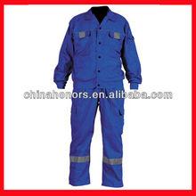 blue working uniform/construction work uniforms