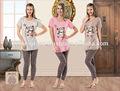 D'été en coton pyjamas pour femmes
