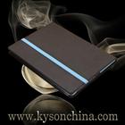 Hard case for ipad air, leather flip case hybrid for ipad 5