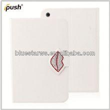 2014 wholesale for ipad mini 2 pu leather case 360 degree rotating case