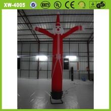 Advertising inflatable christmas santa claus mini inflatable sky air dancer dancing man