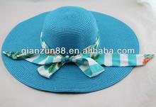 2014 fashion summer ladies beach straw hat